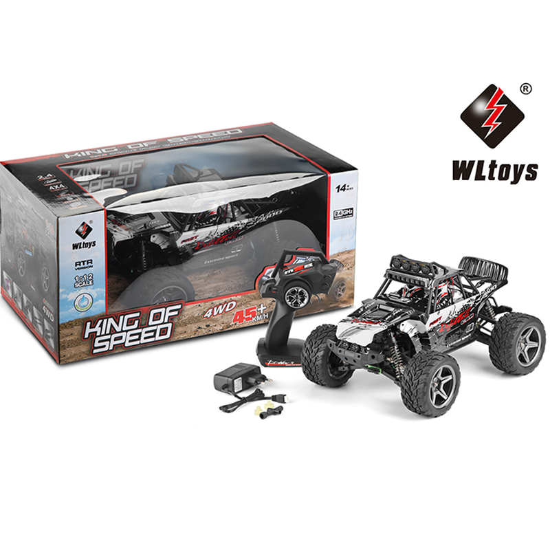 WLtoys 12409 High Spped RC Car 2.4GHz 1:12 Off-road Race Vehicle 4WD Electronic Remote Control Cars Truck Toy