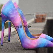 752b3a0ea1 Buy wedding shoes rainbow and get free shipping on AliExpress.com