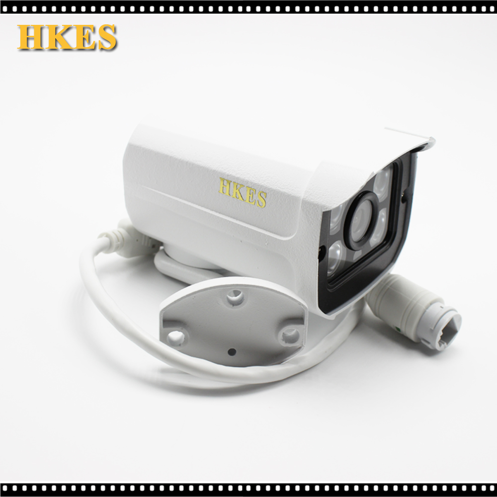 HKES ip audio camera 1080P outdoor cctv surveillance system Waterproof security cam with external microphone new audio ip camera video surveillance security cctv camer network ir dome ip cam with external microphone