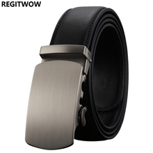 Belt New Designer men`s Automatic Buckle Cowhide Leather belt Luxury belts for men