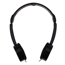 Portable Lightweight Design Adjustable Headband Headphone Retractable Foldable Over-ear Headphone with Mic Stereo Bass for Kids