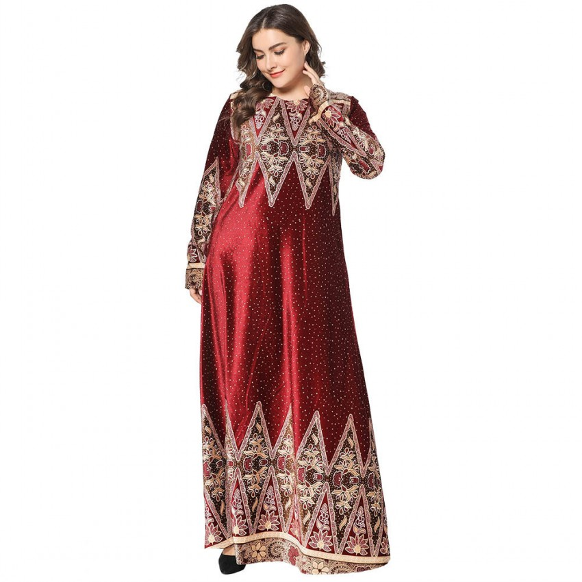 2019 African Dresses For Women African Clothes Maxi Dress Africa Outfit Gown Elegant Lady Robe Party Long Vestidos