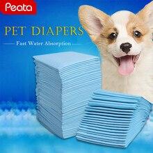 Pet Подгузники Multi-размер супер впитывающие Pet Кинологический впитывающие пеленки Подгузники для собак очистки антибактериальные собака подгузников коврики Z