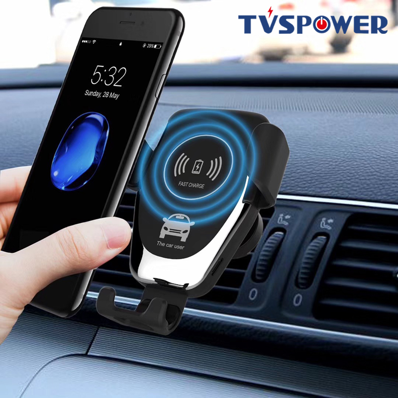 Gravity Induction <font><b>Car</b></font> Qi Wireless <font><b>Charger</b></font> For iPhone XS Max X XR 8 Fast <font><b>Charging</b></font> Air Vent Phone Holder For Samsung Note 9 S9 S8 image