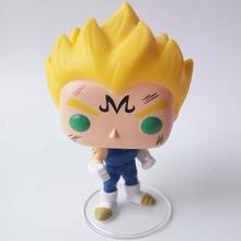 Funko pop Japanese Anime Dragon Ball VEGETA Vinyl Action Figure Collection Model Toys for Children Birthday gift
