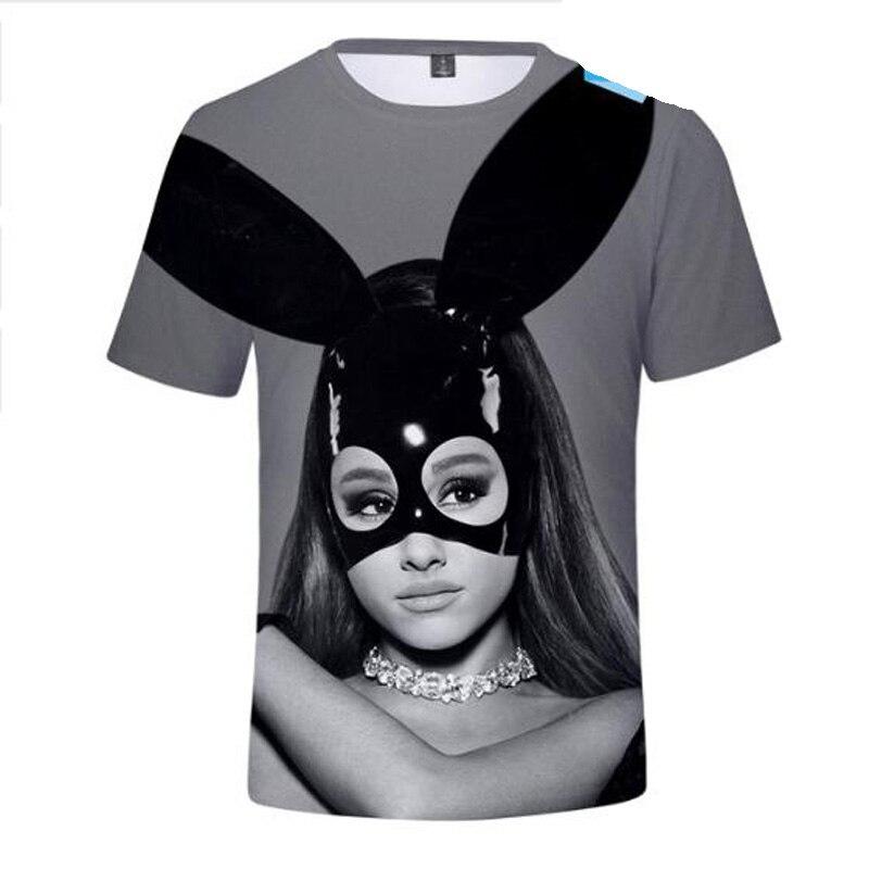 Women's Clothing Purposeful Ariana Grande 3d T Shirt Dangerous Woman Short Sleeve T Shirts Male Female God Is A Woman T Shirts For Women Cartoon Tee Shirts Clearance Price