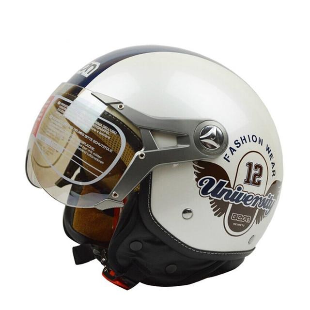 Aliexpress Com Buy Vintage Beon Motorcycle Helmet Fashion Wear