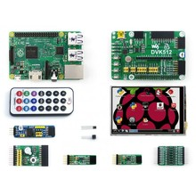 Rpi 2 B Package A including DVK512 Expansion Kit + 3.5 inch Raspberry Pi LCD + 8 Modules+Raspberry Pi Model 2 B