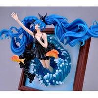 Deep sea girl Ver. Hatsune Miku Anime Figure Photo Frame 1/8 Scale PVC Action Figure WF2014S Virtual Diva Collection Model Toys