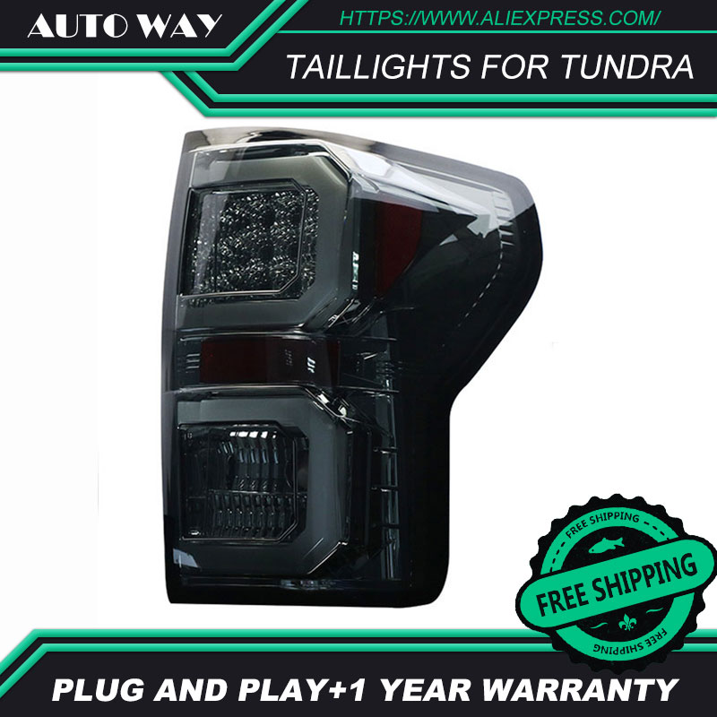 Car Styling case for Toyota Tundra taillights 2007 2013 Design LED Tundra taillight TAIL Lights All