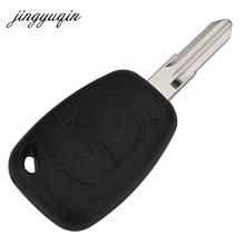 Jingyuqin удаленного Ключи чехол для Opel VIVARO MOVANO Renault traffic Kangoo nissan 2 кнопки Uncut VAC102 крышка лезвия fob В виде ракушки