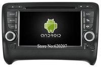 S160 Android 4.4.4 CAR DVD player DLA AUDI TT (2006-2014) car audio stereo Multimedia GPS Quad-Core