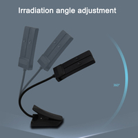 High Quality Table Lamp Rechargeable Foldable LED Eye care Light with Clip for Reading Student VE