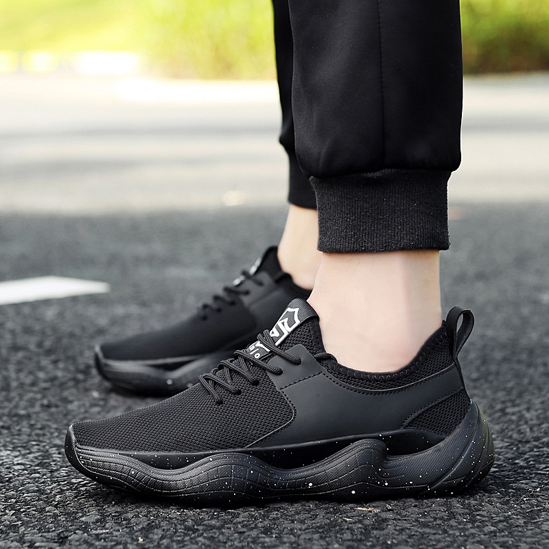 Summer Lightweight Casual Shoes Men's Lace Up High Quality Casual Shoes Men Breathable Slip on Mesh Shoes 5 mesh lace panel sheer slip babydoll