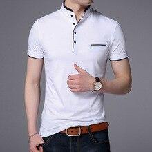 Drop Shipping 2018 New Fashion Brand Summer Short Sleeve T shirt Men Cotton Casual Slim Fit