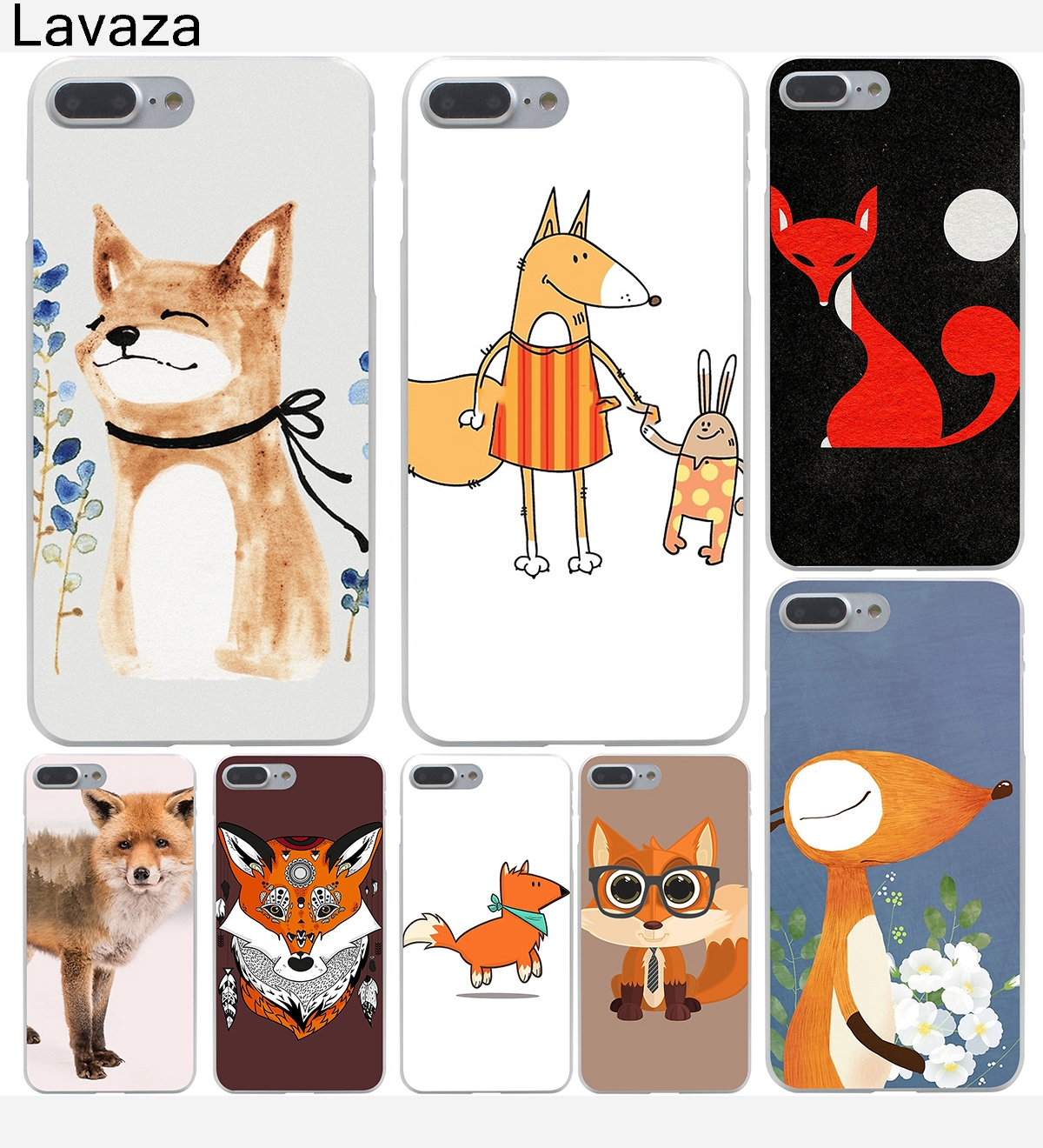 Cellphones & Telecommunications Amiable Lavaza Fox And Moon Semicolon Version Hard Case Shell For Apple Iphone 6 6s 7 8 Plus 4 4s 5 5s Se 5c For Iphone Xs Max Xr Cases