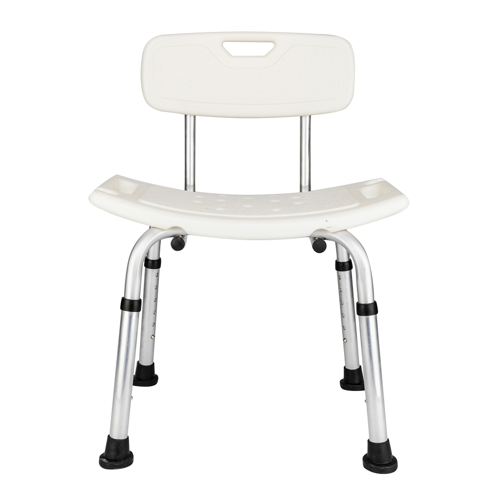 Aluminum Alloy Adjustable Height Medical Transfer Bench Bathtub Chair Shower Seat 798