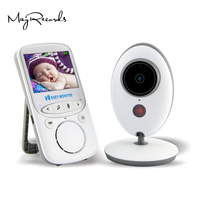 2.4'' Wireless Baby Monitor 2.4GHZ Upgraded Infant 24h Babysitter Digital Baby Camera Audio IR Temperature Monitor