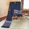 Имитация кашемира пашмины зимний шарф женщины мужчины шарфы и палантины 2016 модный бренд кисточкой шали обруча