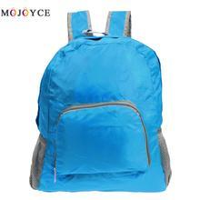 Portable Folding casual Travel Backpacks Zipper Soild Nylon Back Pack Daily Traveling Women men Shoulder Rucksack Mochilas