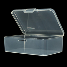 Transparent Plastic Mini Square Boxes Packaging Storage Box With Lid for Jewelry Box Accessories display Box top grade 12 grid linen glass lid bracelet loose bead box jewelry boxes display box bracelet display box jewelry display shelf