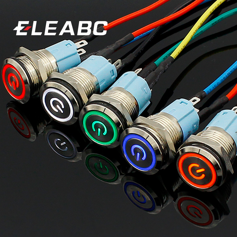 16mm-red-blue-yellow-green-white-light-hot-car-auto-metal-led-power-push-button-switch-self-locking-type-on-off-5v-12v-24v-220v
