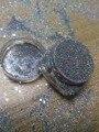 Holográfica Glitter polvo del Polvo de 0.2mm Tamaño Consejos de Acrílico ULTRAVIOLETA de Uñas de Arte DIY Decoración Brillante Colorido de Plata Con Láser, 5g, REY45