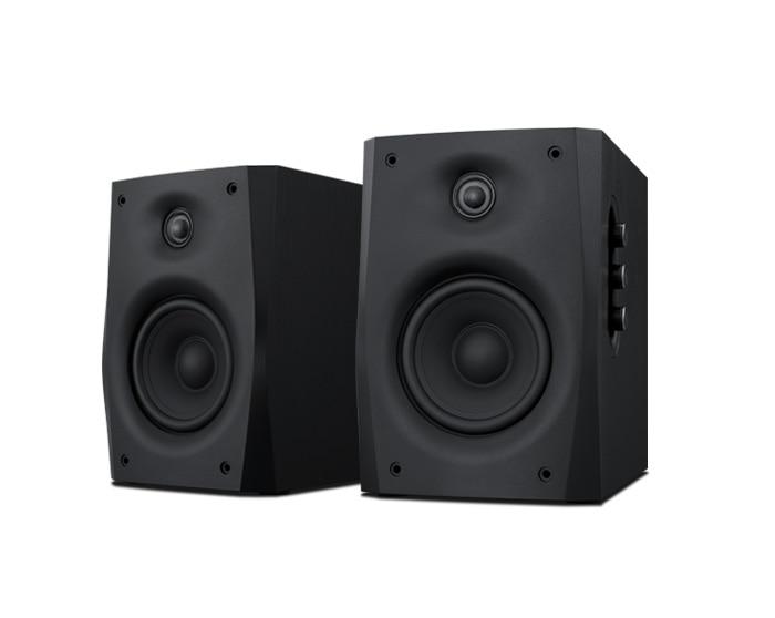 D1010-IVB 2.0 HiFi Multimedia Speaker 4'' active Bluetooth speakers Hi-fidelity 2 way speaker 4''woofer+20mm tweeter 17W/34W RMS appvei ht103 usb 3 5mm high fidelity multimedia desktop speakers green black pair