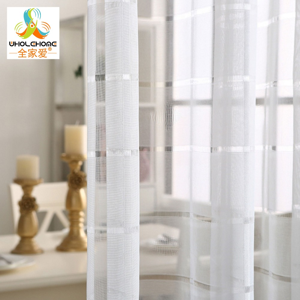 Transparent Living Room Curtains Promotion-Shop for Promotional ...