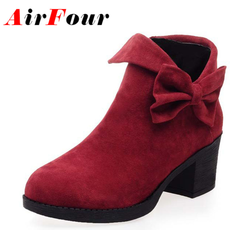 Online Get Cheap Girls Ankle Boots Bow -Aliexpress.com | Alibaba Group