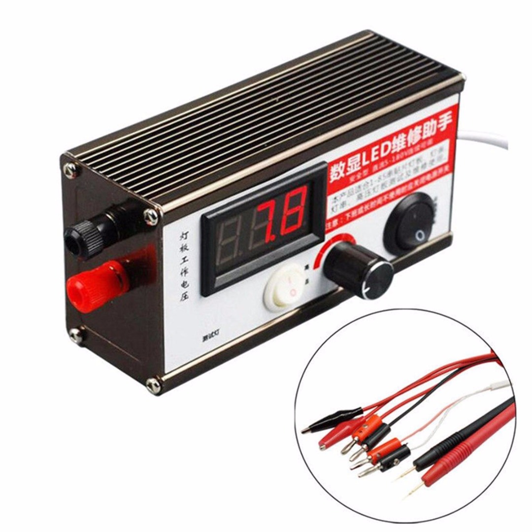 1-100 Inch LED TV Backlight Tester Tool LED Lamp Beads Boards Detection Tool with Alligator Clip Test Lead 220V led tv testers split screen lcd backlight tester tool led lamp beads light boards test my24 30