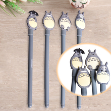 Cartoon Cat Gel Pen Totoro Series Black 0.55mm Gel Pens Signature Pen School Office Writing Stationery Supplies Promotional Gift
