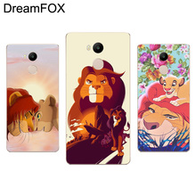 DREAMFOX M115 Lion King Soft TPU Silicone Case Cover For Xiaomi Redmi Note 3 4 4X 5 5A 6 7 Pro Global