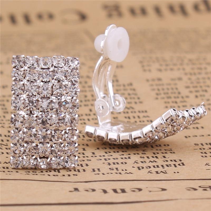 Grace Jun Gaya Baru Berlian Imitasi Kristal Klip Geometri pada - Perhiasan fesyen - Foto 2