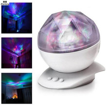 Soothing Aurora LED Night Light Projector with Relaxing Show Mood Lamp for Kids Adults Bedroom Living Room Decoration