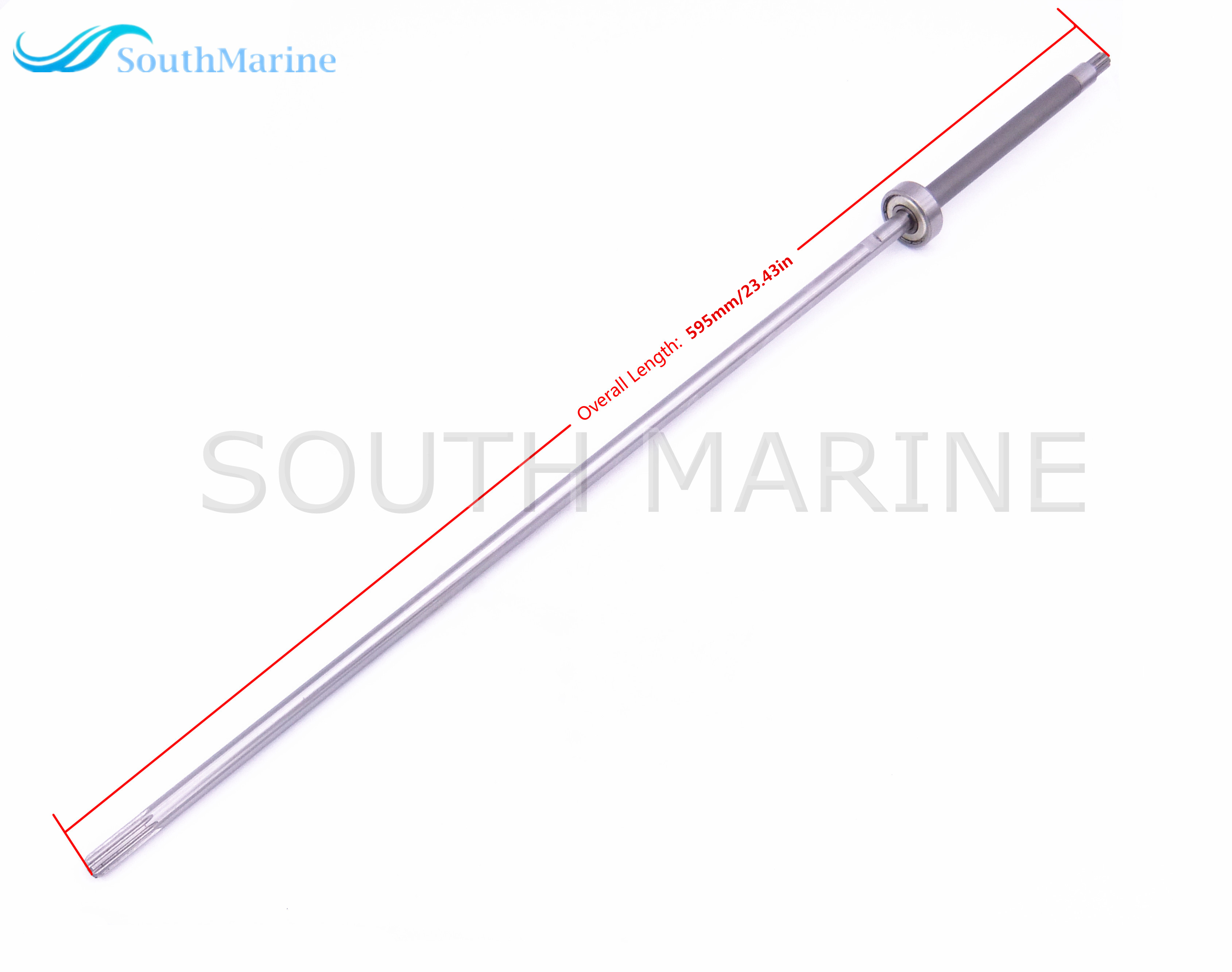 3B2-64301-0 3B264-3010M Short Drive Shaft for Outboard Engine Tohatsu Nissan 2-Stroke 6HP 8HP 9.8HP Boat Motor