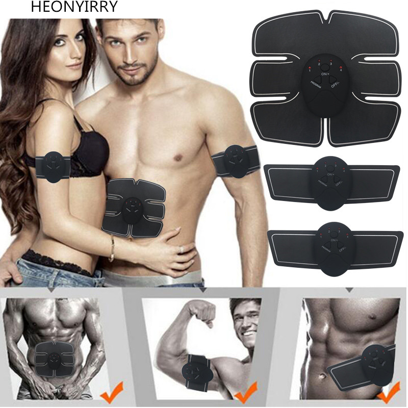 Electric EMS Muscle Stimulator Abdominal Stimulation Body Slimming Machine Muscle Exerciser Training Fat Burning Face Lift Tools все цены
