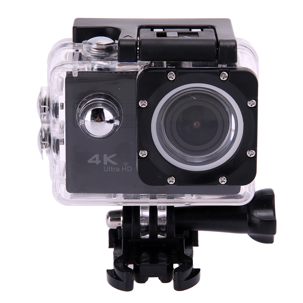 4K High Resolution Waterproof Sports DV Camera 2.45 inch LCD Full 1080P Touch Screen Sports Action 170 degree Camera Set