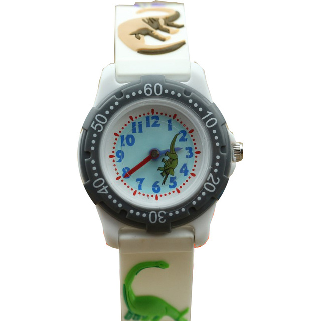 Luxury Brand dinosaur 3D Cartoon Watch 2017 NEW kids Watch cute The best gift si