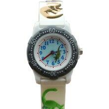 Luxury Brand dinosaur 3D Cartoon Watch 2017 NEW kids Watch cute The best gift silicone wristwatch jelly watch