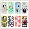 """A Arte Da fruta Impressão Minions Banana Dos Desenhos Animados Caso Do Projeto Para LG G4 H815 H810 H811 VS986 LS991 F500 Para Cobrir funda LG G4 5.5 """"+ Gif Livre"""