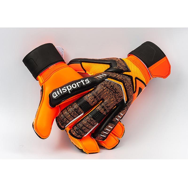 Professional Kid's Soccer Goalkeeper Gloves guantes de portero For Children Football gloves Soft Boy Goalkeeper gloves children цена