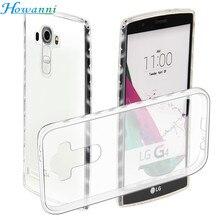 Howanni Мягкий Протектор Прозрачный Case Для LG G4 Case Силиконовые 5.5 5,5-дюймовый Задняя Крышка Для LG G4 Обложка Телефон Shell Капа Coque
