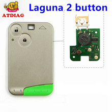Für renault Laguna remote key 2 Taste Smart Remote Key 433 MHz für RENAULT Laguna Smart Card Fob heißer verkauf freies verschiffen