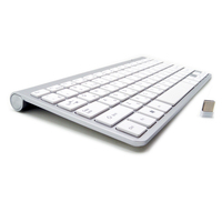 Multimedia Ultra Slim Wireless Keyboard Mouse Combo Optical 2 4Ghz Wireless Mouse For Windows XP7 10