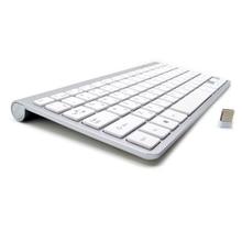 Russian Spanish French Arabic Hebrew font b Keyboard b font 2 4G Wireless Ultra Thin Mute