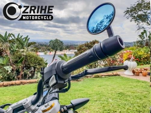 "7/8"" Motorcycle Mirror CNC Aluminum Handle Bar End Rearview Mirror For Ducati Monster 821 YAMAHA Honda Kawasaki"