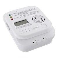 NEW Safurance CO Carbon Monoxide Alarm Detector LCD Digital Home Security Indepedent Sensor Safety