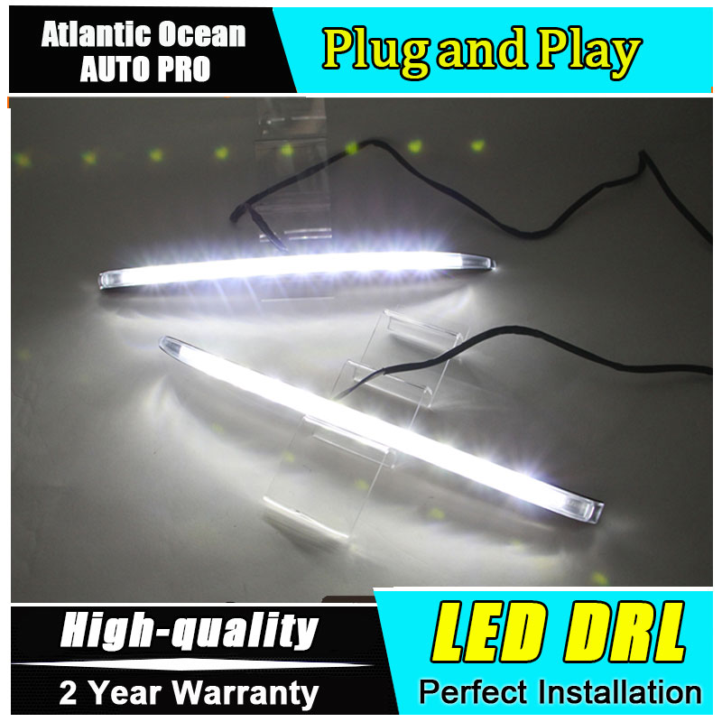 JGRT car styling For Buick lacrosse LED DRL For lacrosse led daytime running light High brightness guide LED DRL