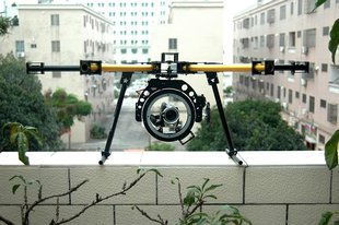 HY-800 KK MK FF MWC FPV Fiber Glass 800mm Wheelbase Hexacopter Frame Set with HY-120 PTZ Kit deco hy 3779а
